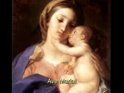 """<font size=""""2"""">1. Advent</font><br>Ave Maria"""