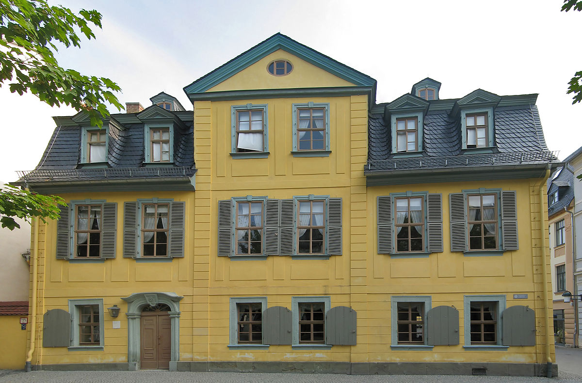Schillers Wohnhaus & Goethe-Ausstellung
