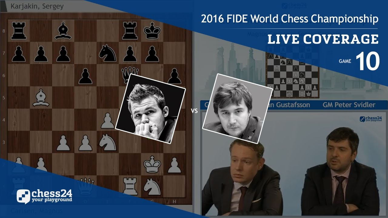 2016 FIDE World Chess Championship (10)