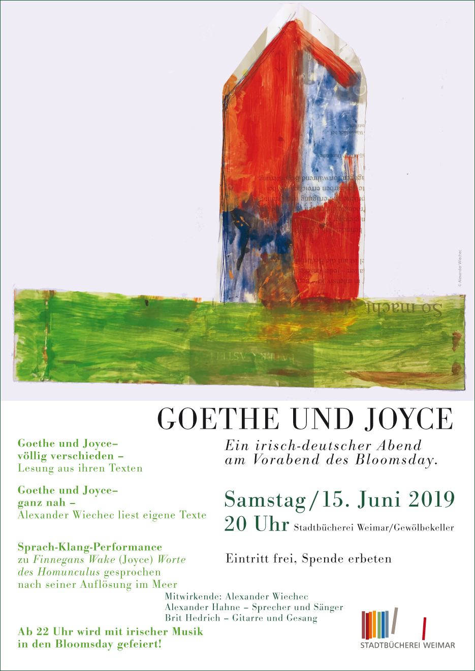 Goethe und Joyce