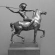 Franz Struck - Amazone auf Pferd
