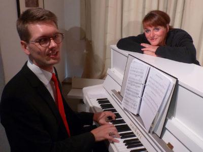 Klassikmuse Sybille Tancke und Musicus Matthias Meyke