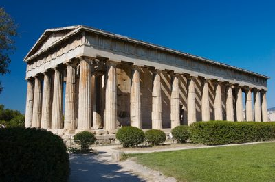 Temple_of_Hephaestus - Tempel des Hephaistos