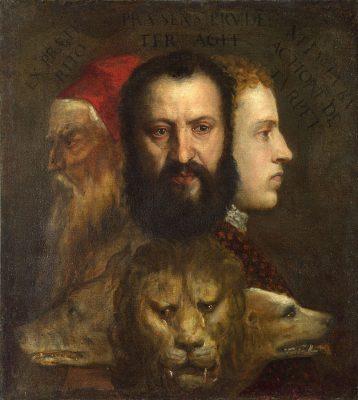 Tizian - Allegorie der Zeit