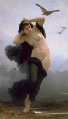 William Adolphe Bouguereau - Nyx