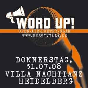WordUp Poetry-Slam in Heidelberg