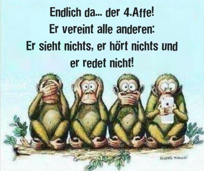 Die drei Affen - die 3 Affen