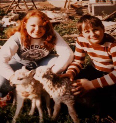 Heidi, Peter, Cousine Kerstin und Ralph