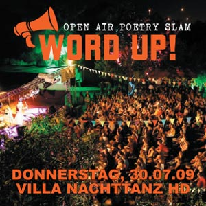 WordUp Poetry-Slam in Heidelberg